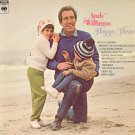 ANDY WILLIAMS - Happy Heart  - 1969 LP (Columbia Records - CS 9844)