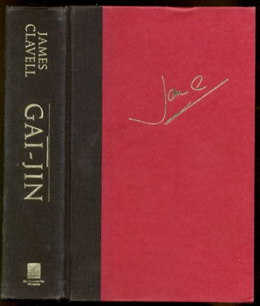 GAI-JIN by James Clavell (1993, Hardcover)