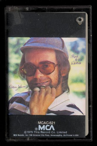 ELTON JOHN - Rock Of The Westies - 1975 Cassette (MCA - MCAC-2163)
