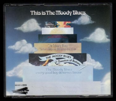 This Is THE MOODY BLUES - 1989 2-CD Set - Threshold (820 007 2)