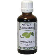 MindSoothe Jr., herbal remedy for child and teen depression with St. John's Wort and Passiflora