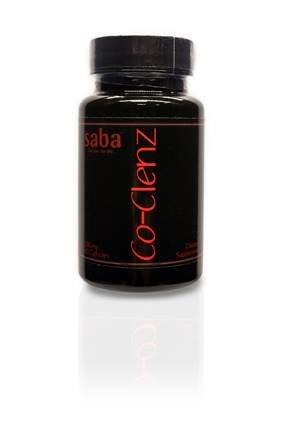 Saba Co Clenz 60 Count Bottle + 5 Day Cleanse Diet Brochure Saba 60