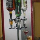 New Liquor Dispenser 4 bottle