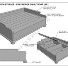 DOG & CAT - PET BEDS - MANY SIZES - Build Your Own - Full Building Plans 2D & 3D