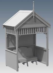 FEDERATION OUTDOOR GARDEN RETREAT HIDE AWAY V01 - Full Building Plans 3D and 2D