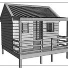 "CUBBY HOUSE - PLAY HOUSE - ""Great Aussie Outback Style"" - Building Plans V4"