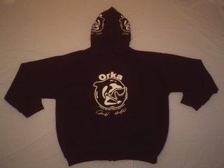 ORKA zipup hoodie