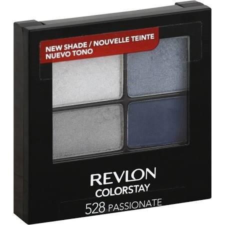 Revlon 16 Hr ColorStay Quad Eyeshadow 528 Passionate (EC597-211)