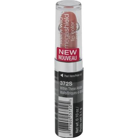 Wet N Wild Mega Shield SPF15 Lip Color Within These Adobe Walls 372S .10oz (EC299-200)