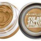 Maybelline Color Tattoo 24hr Eyestudio Cream Eyeshadow 45 Bold Gold .14oz (EC594-109)