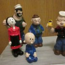 Popeye and family figurines