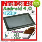 """WIFI 7"""" inch Tablet PC Android 4.0 A13 Boxchip Cortex A8 2x Camera 4GB 512MB Ram"""
