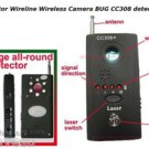 USA SHIP  Anti-Spy Rf Signal Bug Detector Hidden Camera Laser Lens GSM Device