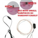 FAST Free USA shipping New Spy EarPiece Bug Device Mini Wireless Earpiece TEST