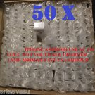 50 piece x50 galaxy s2 s3 note 2 iphone 4 4s 5 HTC USB home wall charger adapter