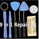 9 x1 Pry Screwdriver Repair Tools Kit iPhone 4 4S iPod Touch NANO IPADS ANDROID