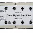 US SHIP 8 Channel Output DMX DMX512 LED Controller Signal Amplifier Splitter LOT