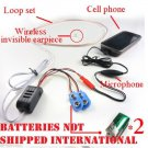 Surveillance SPY TALK Wireless Earphone Cell Phone Hidden Ear Piece Bug Device