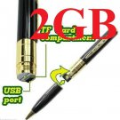 NU 2GB COVERT FBI Mini Spy Pen HD Video Hidden DVR Camera Camcorder Recorder USA