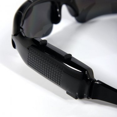 USNew Sunglasses Spy Hidden Pinhole Spy Sunglasses DVR-Mobile Eyewear Recorder-C