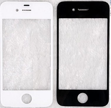 BRAND NEW Glass Screen Lens for iPhone 4 WHITE FAST USA SHIPPER IN STOCK