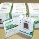 New  Galaxy Discover White Smartphone Cricket Wireless 4GB MICRO SD CHARGER EARB