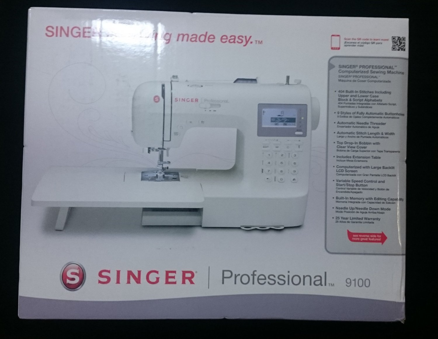 singer sewing machine professional