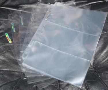 6 Different Sleeves - 3-Pocket, 4-Pocket, 6-Pocket, and MORE Pocket Pages