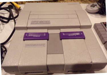 Super Nintendo Console with 6 SNES Games, Retro Adapter, and MORE