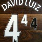 DAVID LUIZ 4 CHELSEA HOME 2013 2014 NAME NUMBER SET NAMESET KIT PRINT FOOTBALL