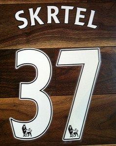 MARTIN SKRTEL 37 LIVERPOOL HOME 2013 2014 NAME NUMBER SET NAMESET KIT PRINT