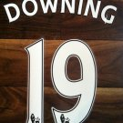STEWART DOWNING 19 LIVERPOOL HOME 2013 2014 NAME NUMBER SET NAMESET KIT PRINT
