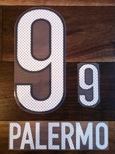 MARTIN PALERMO 9 BOCA JUNIORS 2013 2014 NAME NUMBER SET NAMESET KIT PRINT