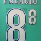 RODRIGO PALACIO 8 INTER MAILAND MILAN 2013 2014 NAME NUMBER SET NAMESET PRINT