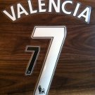 VALENCIA 7 MANCHESTER UNITED HOME AWAY 2013 2014 NAME NUMBER SET NAMESET PRINT
