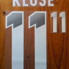 MIROSLAV KLOSE 11 GERMANY AWAY 2013 2014 NAME NUMBER SET NAMESET KIT PRINT