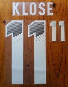 MIROSLAV KLOSE 11 GERMANY AWAY 2013 2014 NAME NUMBER SET NAMESET KIT PRINT
