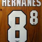 HERNANES 8 SS LAZIO HOME 2013 2014 NAME NUMBER SET NAMESET KIT PRINT