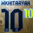 MKHITARYAN 10 BORUSSIA DORTMUND HOME 2013 2014 NAME NUMBER SET NAMESET PRINT