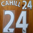 GARY CAHILL 24 CHELSEA HOME 2013 2014 NAME NUMBER SET NAMESET KIT PRINT FOOTBALL