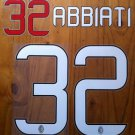 CHRISTIAN ABBIATI 32 AC MILAN HOME 2013 2014 NAME NUMBER SET NAMESET PRINT