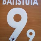 GABRIEL BATISTUTA 9 FIORENTINA HOME 2013 2014 NAME NUMBER SET NAMESET KIT PRINT