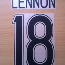 LENNON 18 CELTIC HOME UCL 2006 2017 NAME NUMBER SET NAMESET KIT PRINT NUMBERING