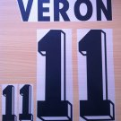 VERON 11 ARGENTINA HOME WORLD CUP 1998 NAME NUMBER SET NAMESET KIT PRINT