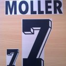 MOLLER 7 GERMANY HOME WORLD CUP1994 NAME NUMBER SET NAMESET KIT PRINT NUMBERING