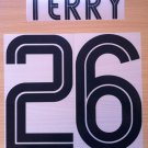 TERRY 26 CHELSEA AWAY UCL 2004 2006 NAME NUMBER SET NAMESET KIT PRINT