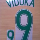 VIDUKA 9 AUSTRALIA 2006 2008 NAME NUMBER SET NAMESET KIT PRINT NUMBERING