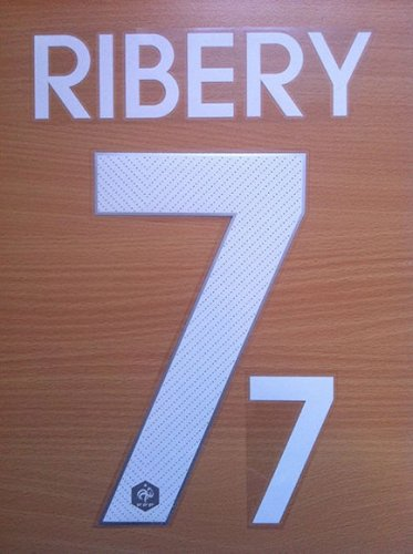 RIBERY 7 FRANCE HOME 2014 2015 NAME NUMBER SET NAMESET KIT PRINT WORLD CUP