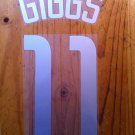 GIGGS 11 MANCHESTER UNITED AWAY UCL 2002 2003 NAME NUMBER SET NAMESET KIT PRINT