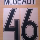 MCGEADY 46 CELTIC HOME UCL 2009 2010 NAME NUMBER SET NAMESET KIT PRINT NUMBERING